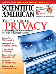 American Scientific Magazine September 2008