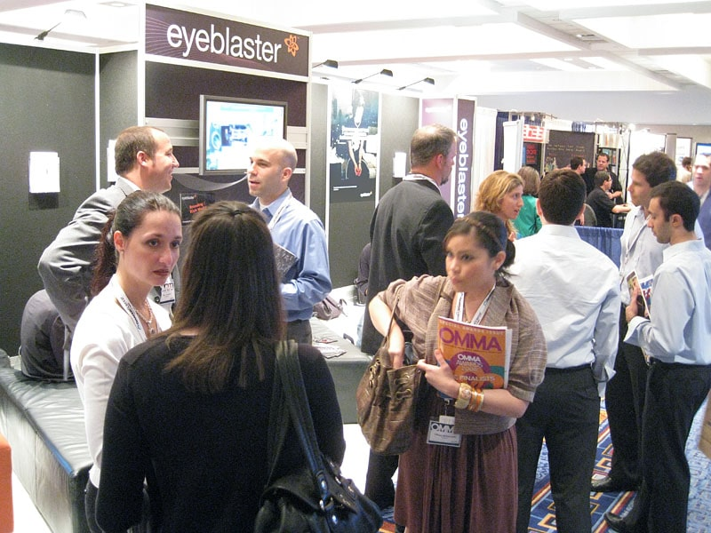 Eyeblaster stand at OMMA NYC 2008