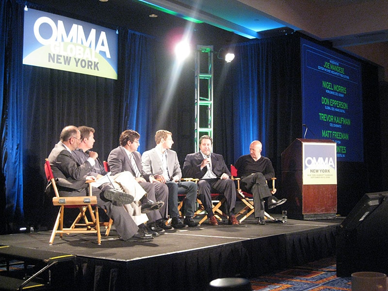 Agency CEO's discuss Disintermedia at OMMA Global Conference 2008