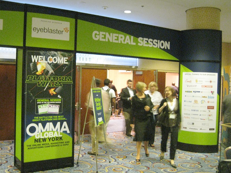Entrance to OMMA NYC 2008