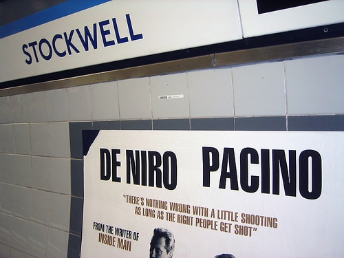 Stockwell Tube Righteous Kill Advert