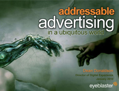 Addressable advertising