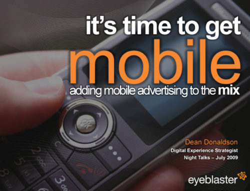 It's time to get mobile